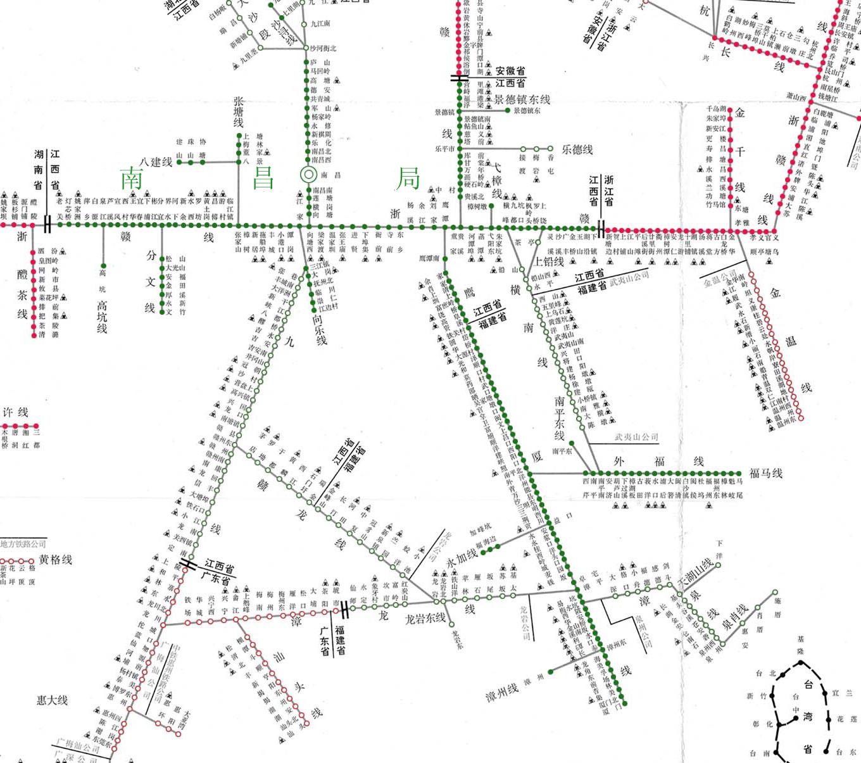 全国铁路货运线路图_全国铁路货运查询-