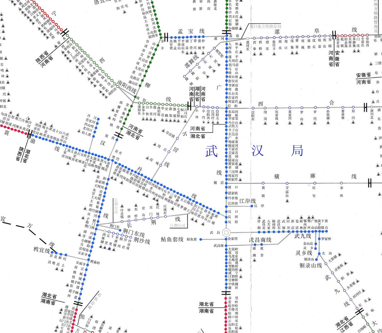 全国铁路货运线路图_武汉铁路局货运营业站示意图 - 全国铁路货运营业站示意图 - 煤炭网