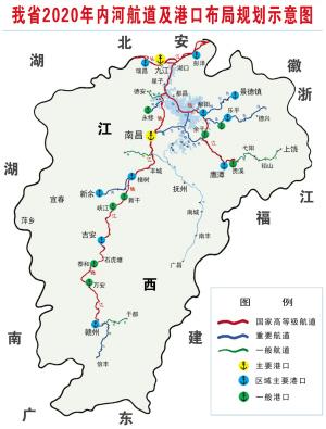 江西铁路地图全图行